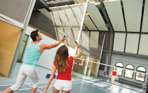 Badminton & Volleyball