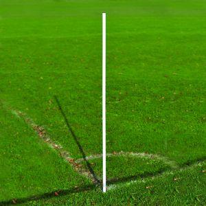 Flexible UPVC Corner Pole in White (each)